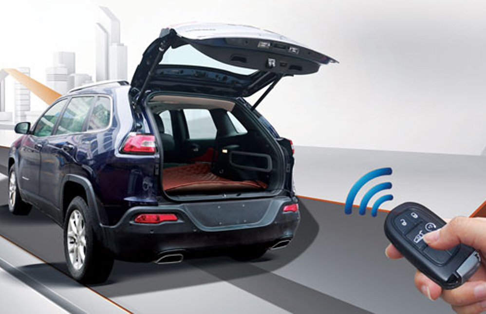 Электроприводы багажника
